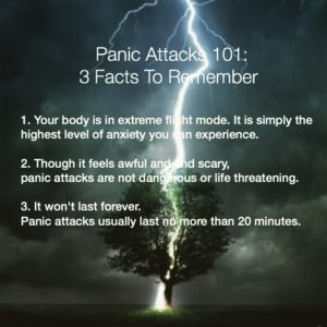 panic attack therapy