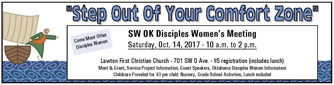 Southwest Oklahoma Women's Meeting October 14, 2017