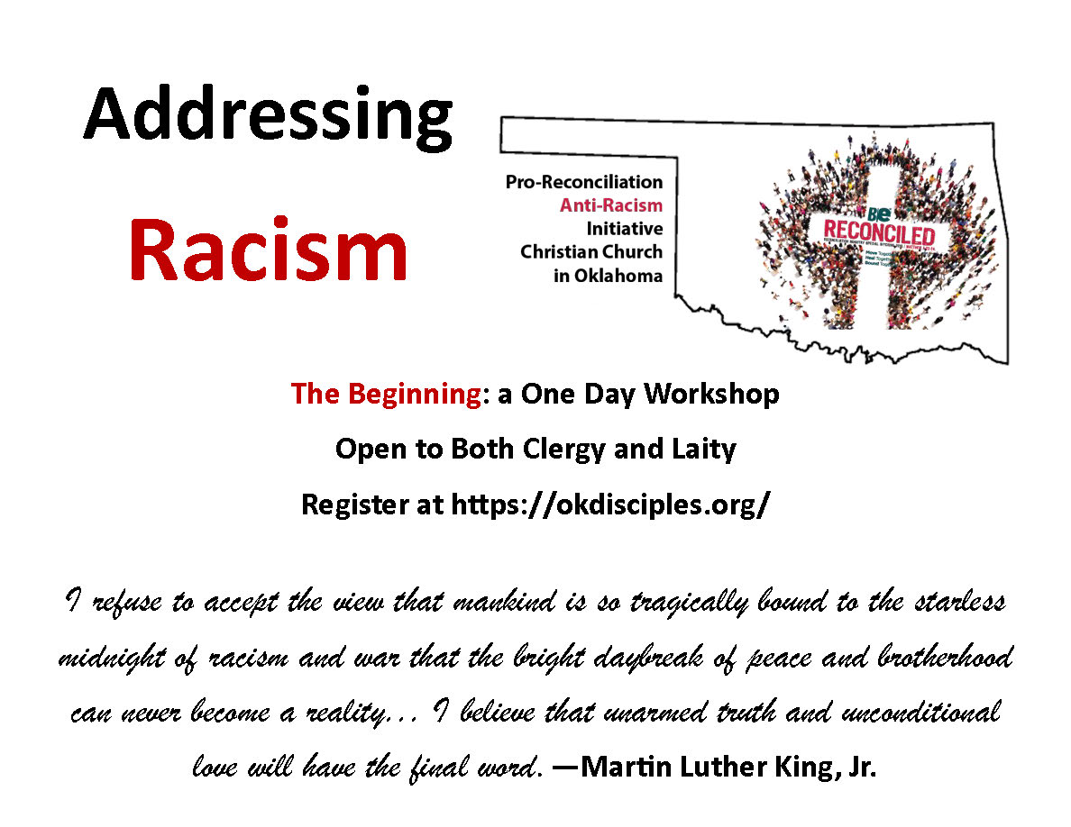 Laity Training for Pro-Reconciliation and Anti-Racism