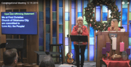 First Christian Church-OKC Becomes Open and Affirming