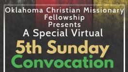 Oklahoma Convocation – 5th Sunday Worship & Fellowship: Watch the Replay