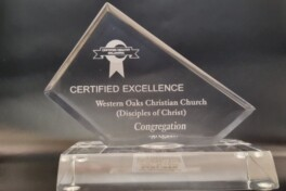 Western Oaks Christian Church Receives Award From Oklahoma State Department of Health