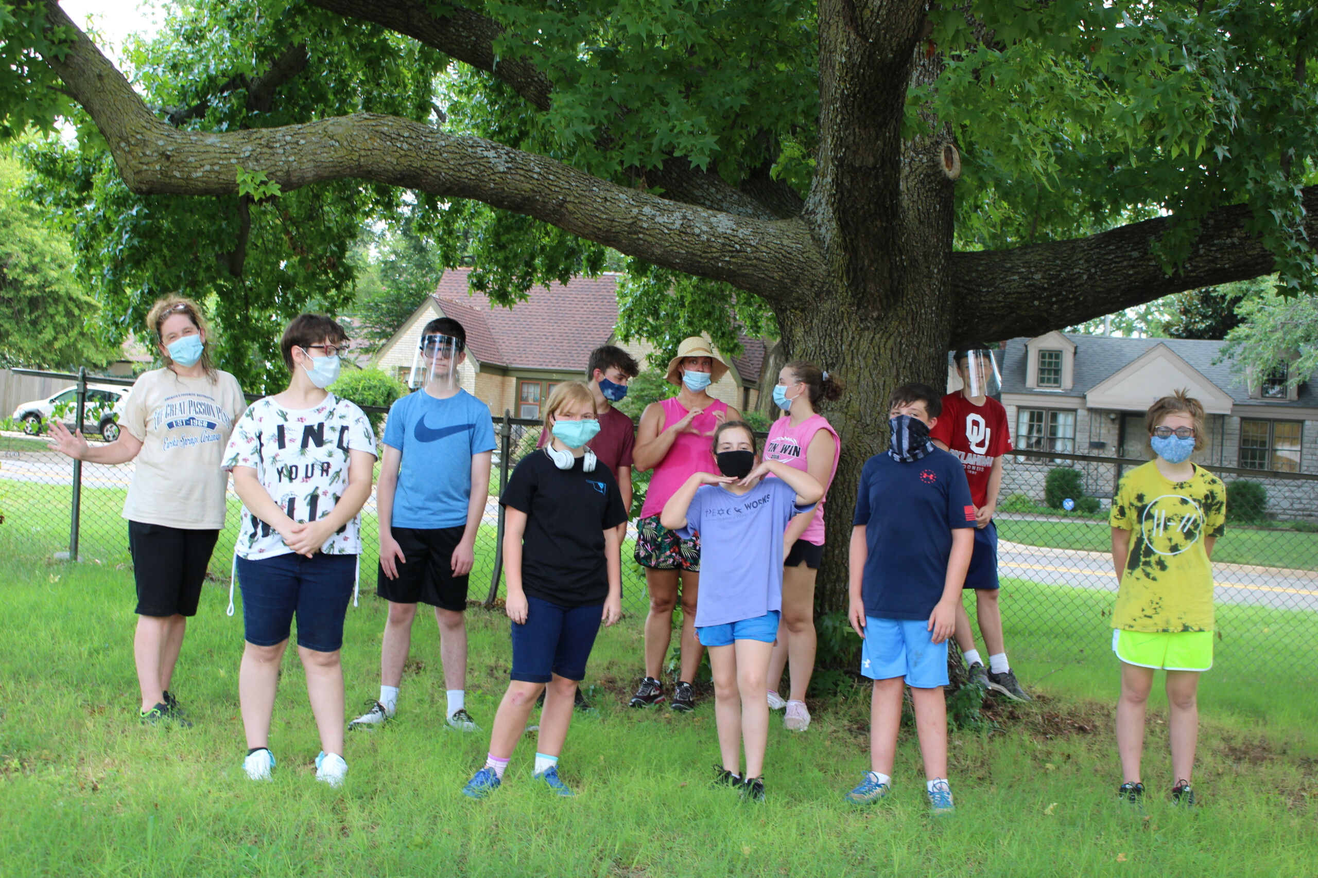New Covenant Youth Work Day at Oklahoma Regional Office