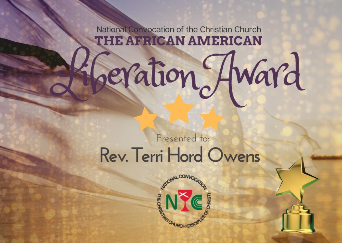 GMP Receives National Convocation's Liberation Award