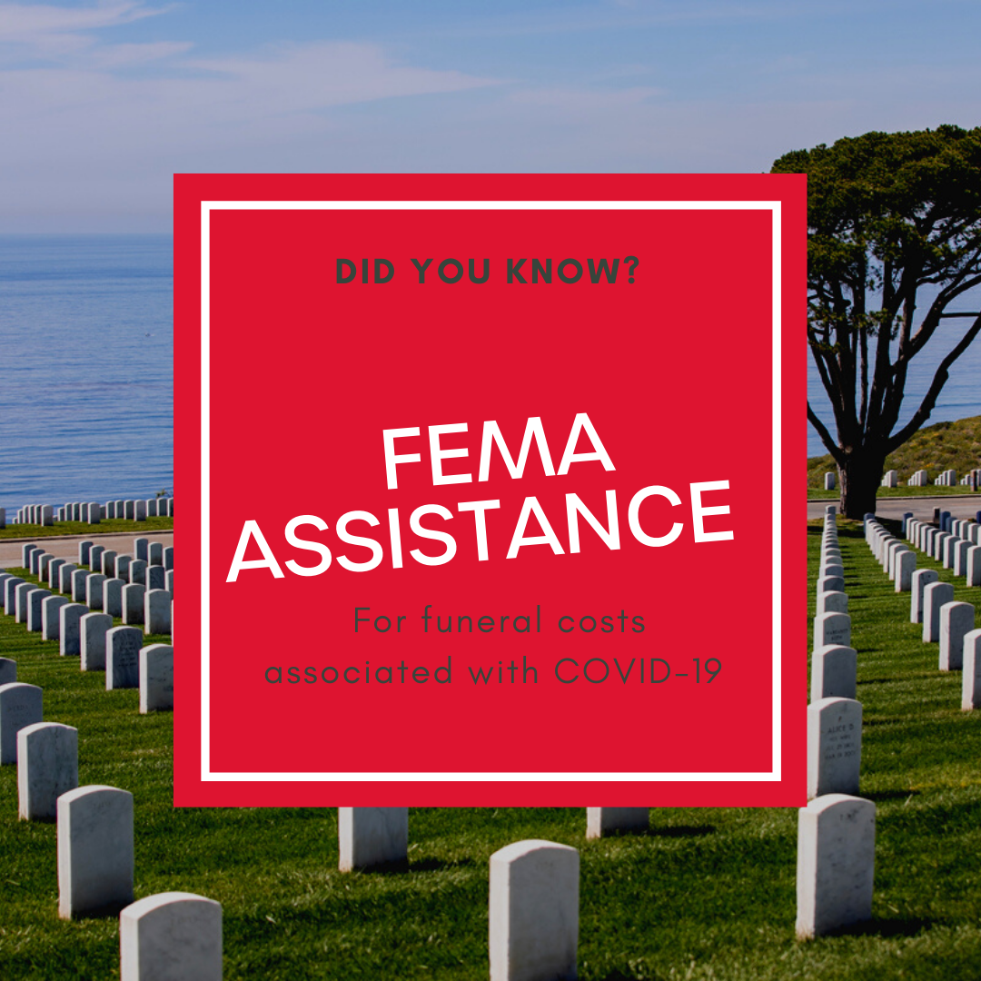 FEMA Funeral Assistance for Covid-19 Deaths