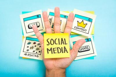 social media creatation