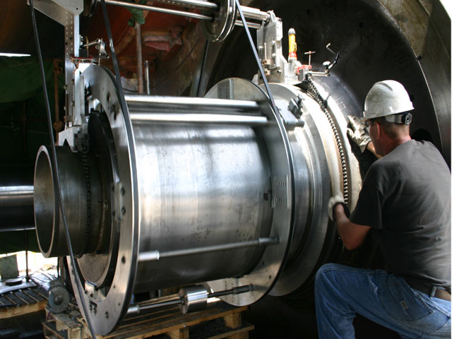 On-Site Machining Services by Orbital Energy Services
