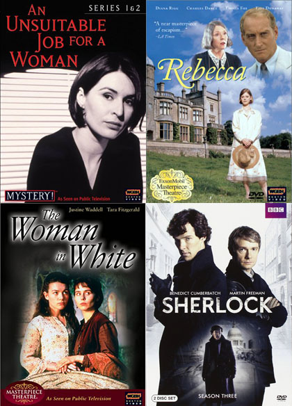Brit TV Mystery Thriller Adaptations