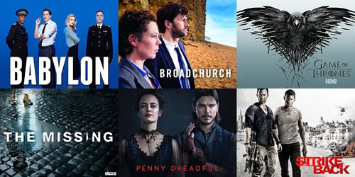 Brit TV Shows On US Cable in 2015