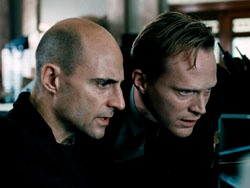 Blood: Mark Strong & Paul Bettany