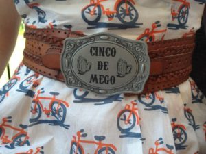 Megan Reeg and Her Cinco De Mego Belt -
