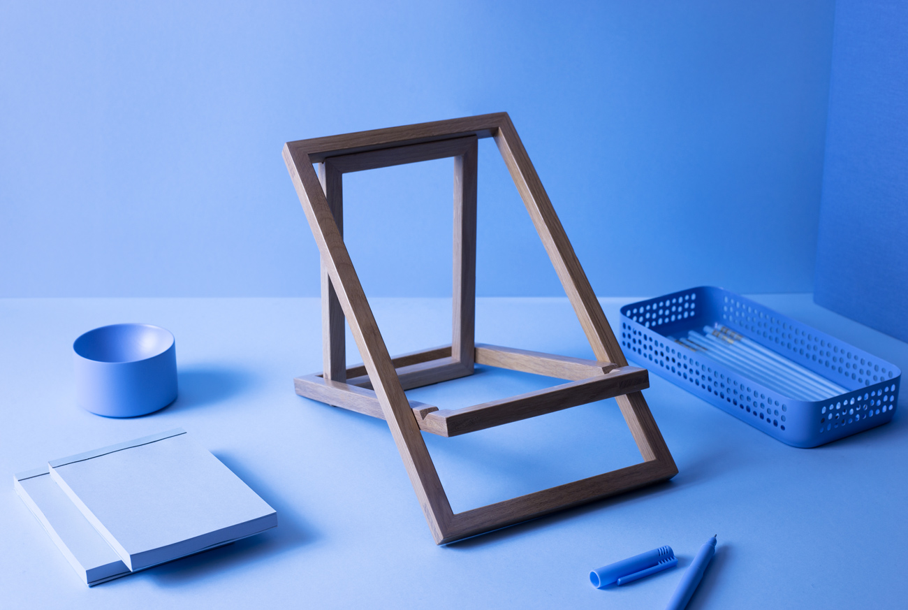 Standing laptop stand by VALRYGG studio