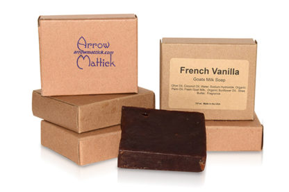 French Vanilla Goats Milk Soap