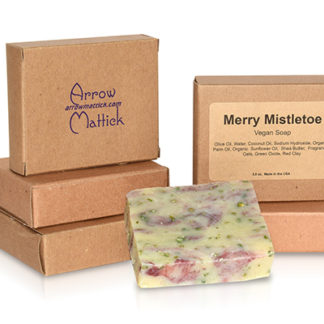Arrow Mattick merry mistletoe handmade soap