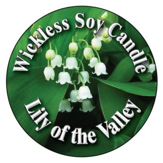 Lily of the Valley Wickless Candle
