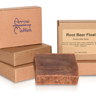Root Beer Float Goats Milk Soap