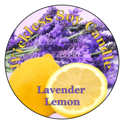 Lavender Lemon Wickless Candle