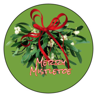Merry Mistletoe Wickless Candle