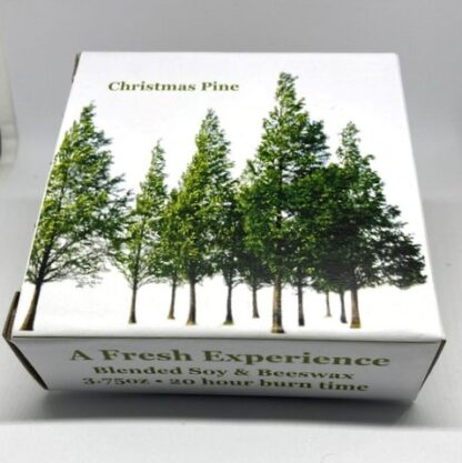 Travel candle box - Pine