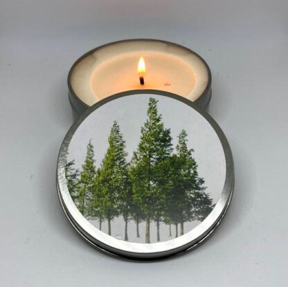 Travel Candle Pine