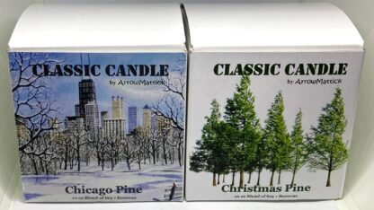 Holiday Pine Candles - 2 Pack Boxed