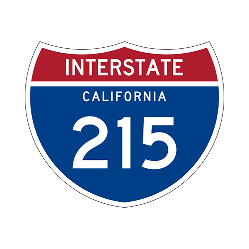 Interstate California 215