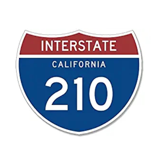 Interstate California 210