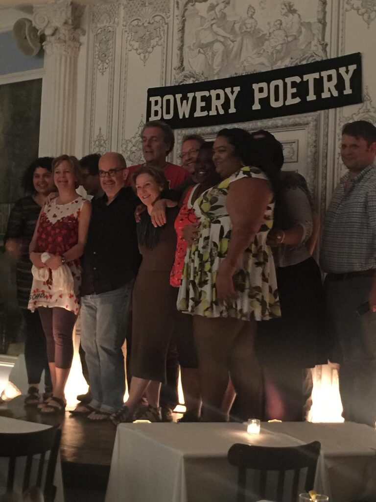 Lee Woodman Group Reading at Bowery Poetry