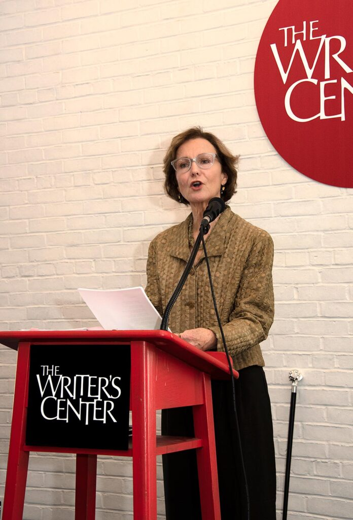 Lee at The Writer's Center