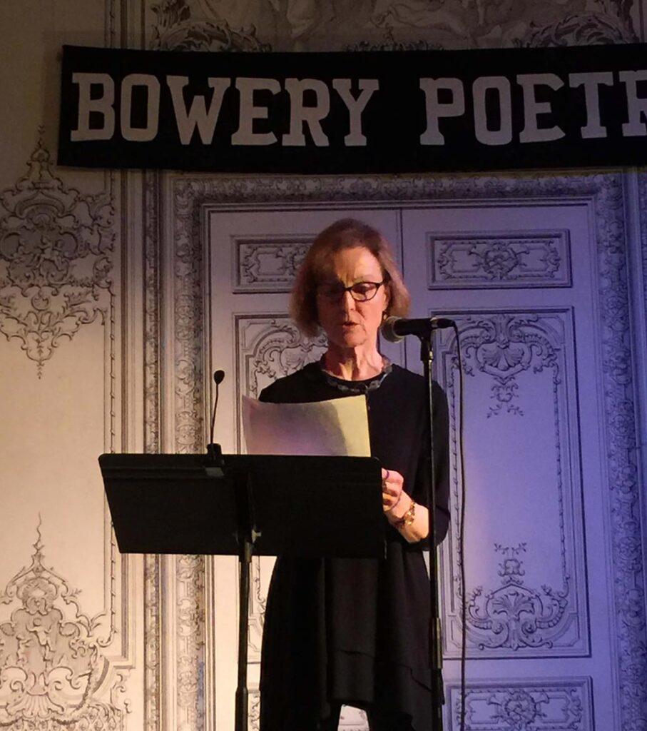Lee Woodman readings at Bowery Poetry