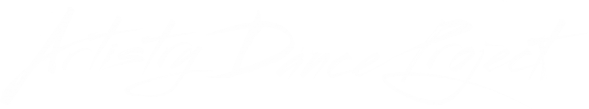Artistry Dance Project Logo