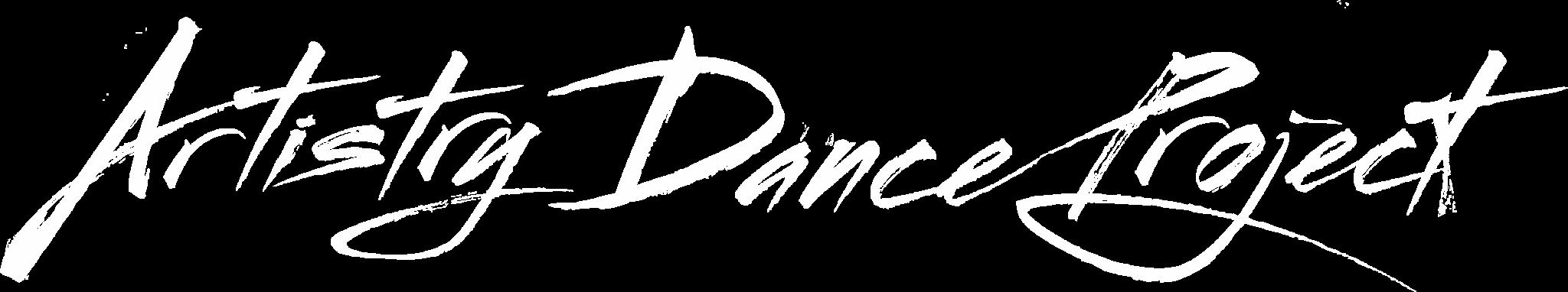 Artistry Dance Project Logo