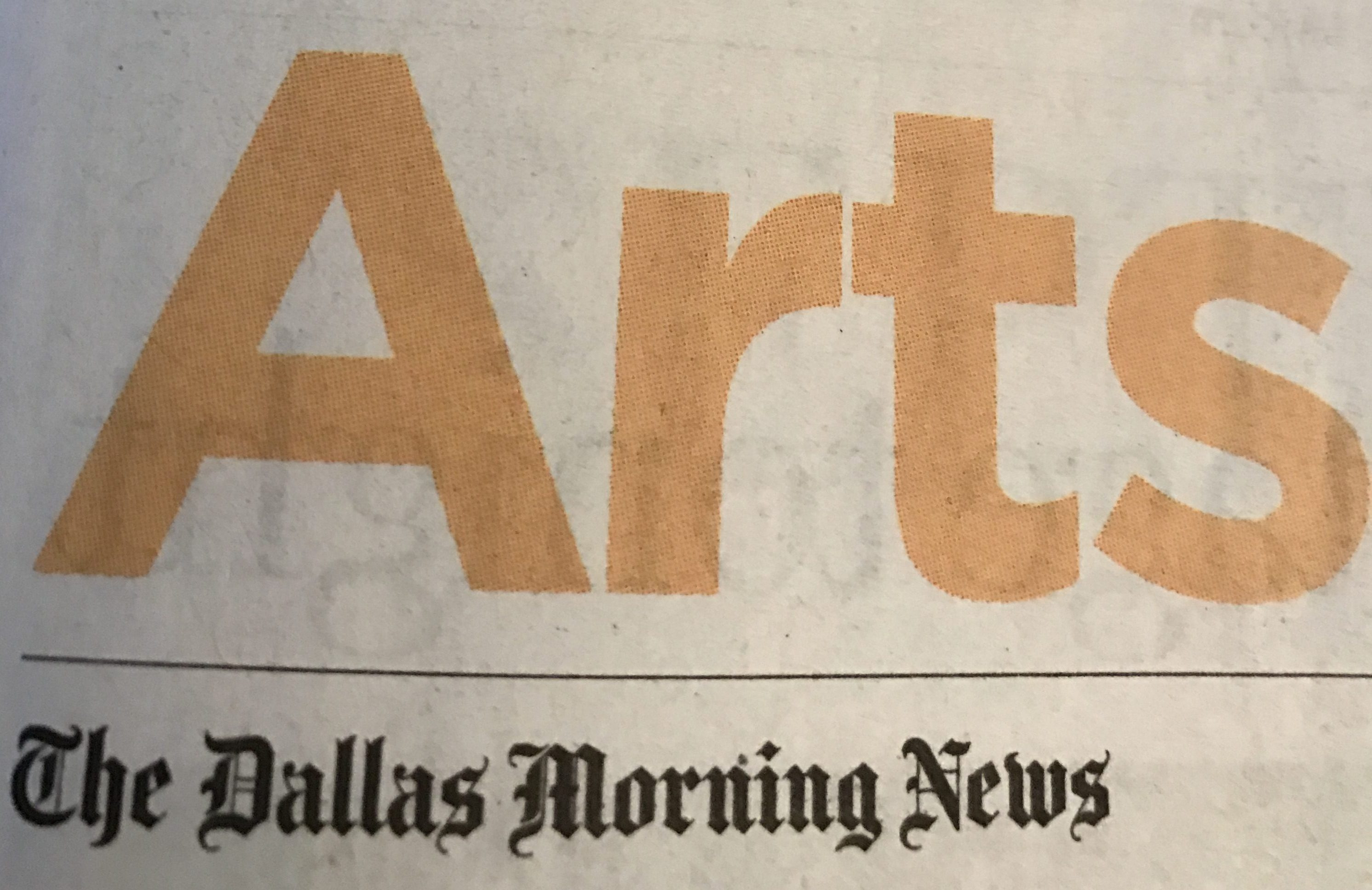 Dallas Morning News Article