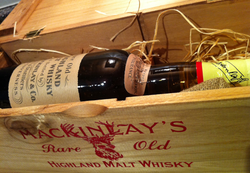 Shackleton Whisky Mackinlay & Co. Whyte and Mackay