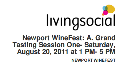 Newport WineFest Living Social