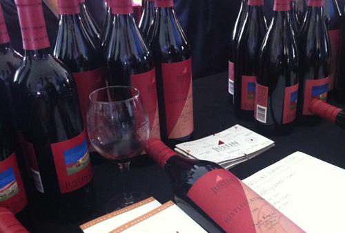 Justin Vineyards Newport Wine