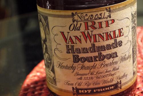 old rip van winkle 10 107 proof