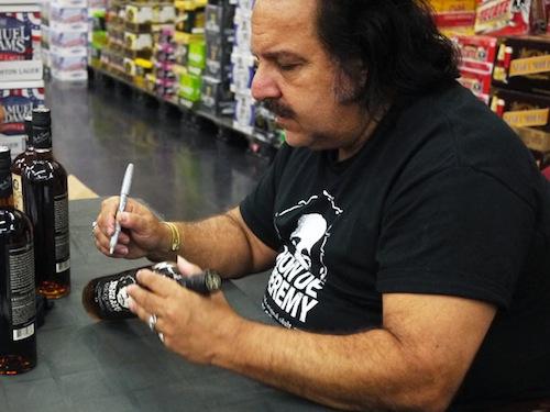 Ron Jeremy Signing