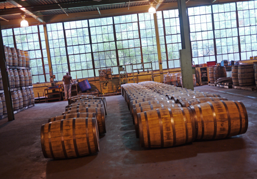 Bowman_Distillery_Barrels