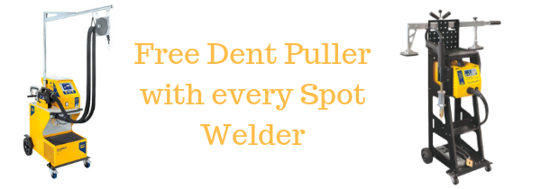 Free Dent Puller with every Spot Welder