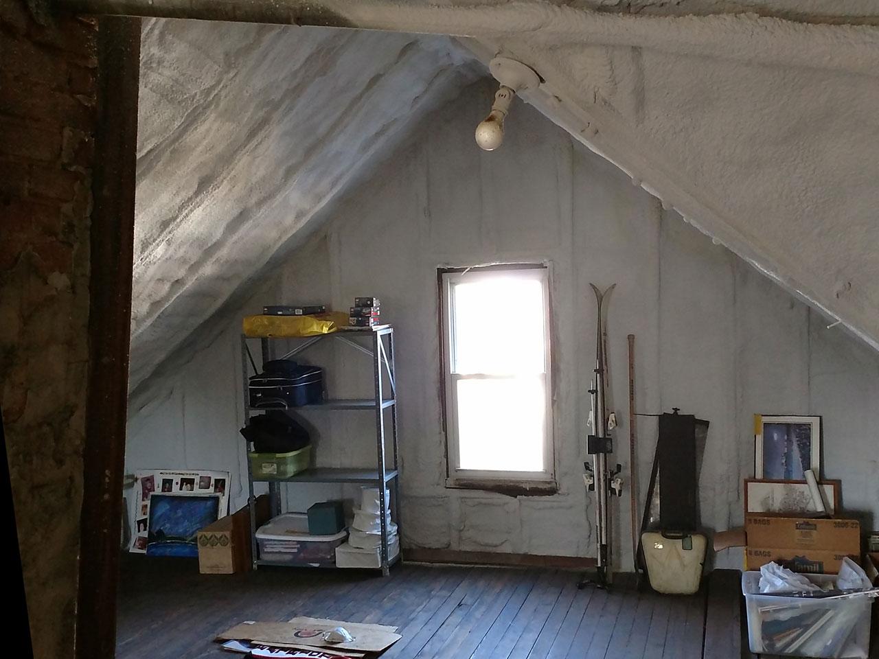 Spray foam contractor capital insulation Foam USA