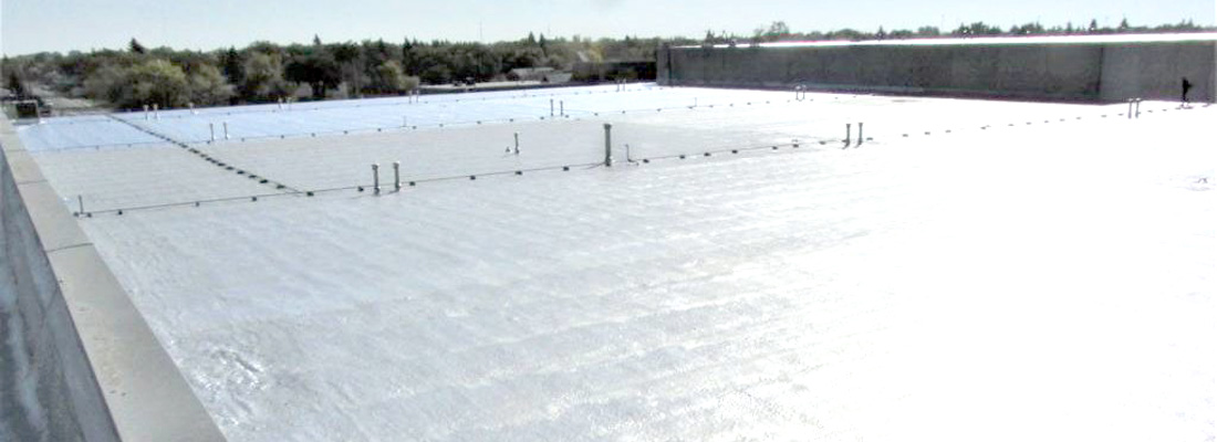 commercial spray foam roof