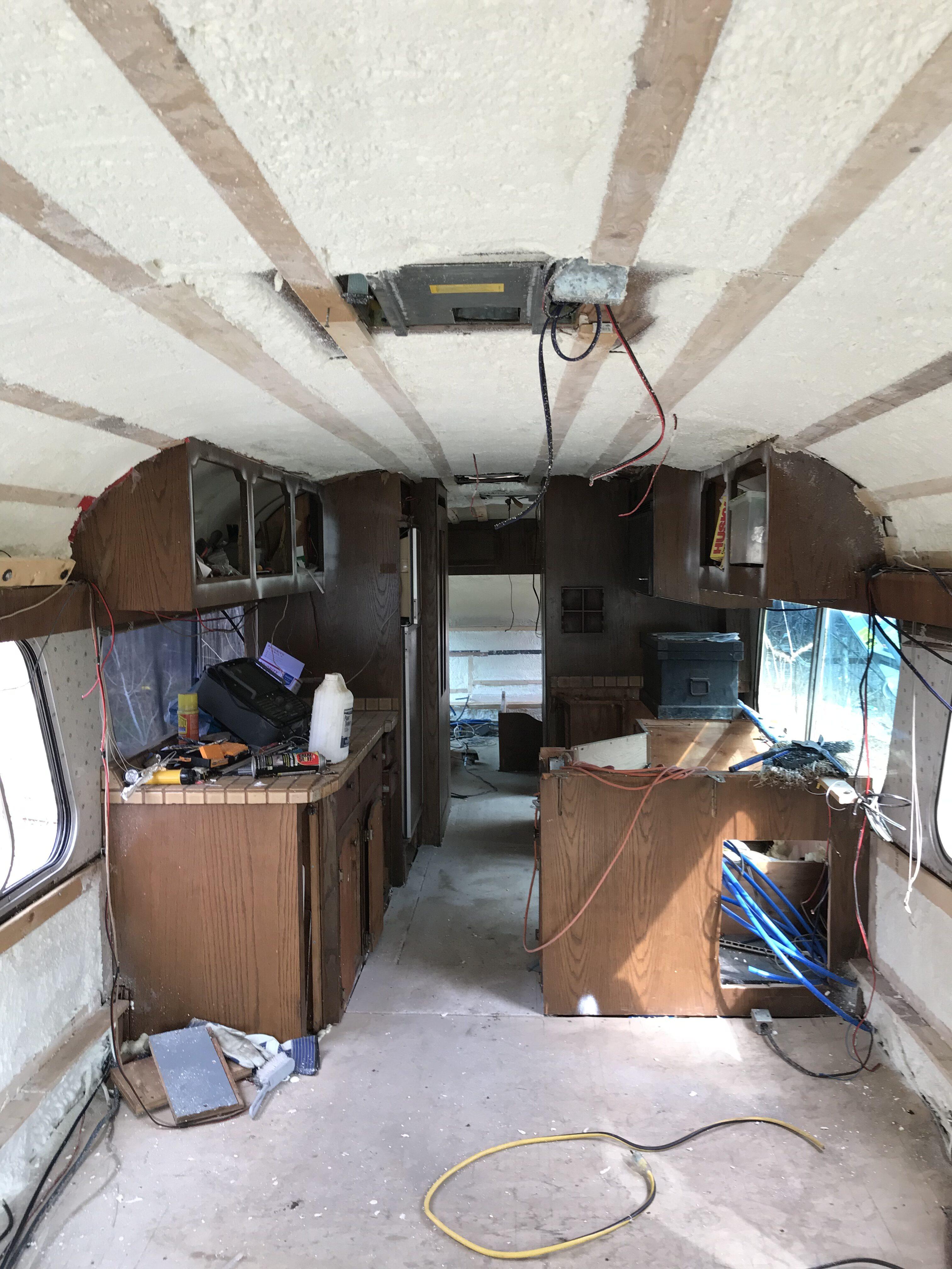 Bus foam! Berkshires, MA