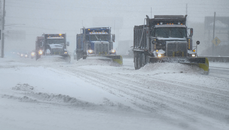 New Mexico Couple Hit by City Snowplow Driver While Crossing the Street
