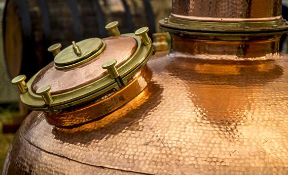 Copper still