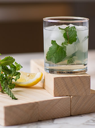 Mint Lemonade cocktail