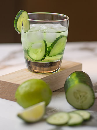 Cucumber Cooler cocktail