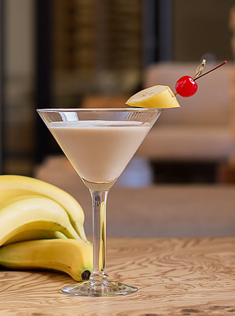 Nutty Monkey cocktail