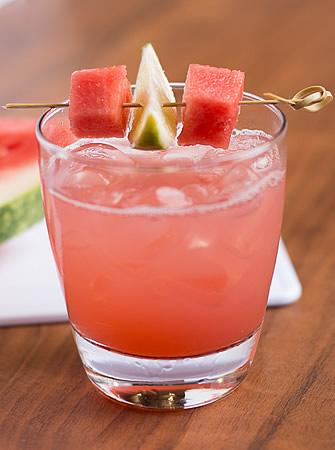 Melon Smash cocktail