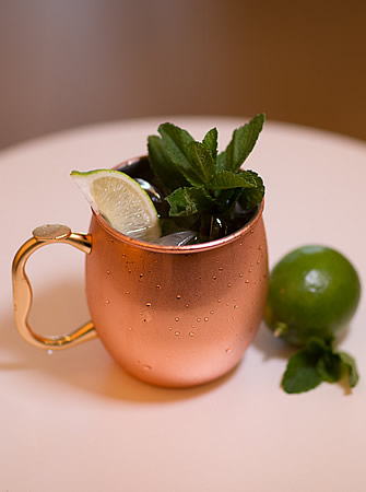 Monkey Mule cocktail